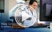 This is a screen capture of video Putting Watson to work in healthcare with IBM Power Systems
