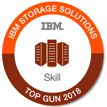 2018 IBM Storage Solutions Top Gun