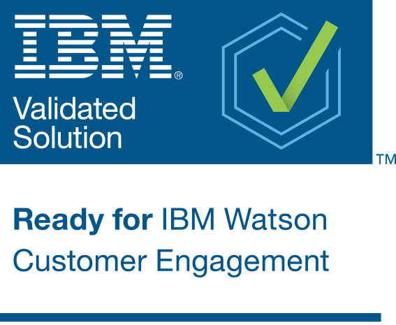 Ready for Watson Custoemr Engagement Mark